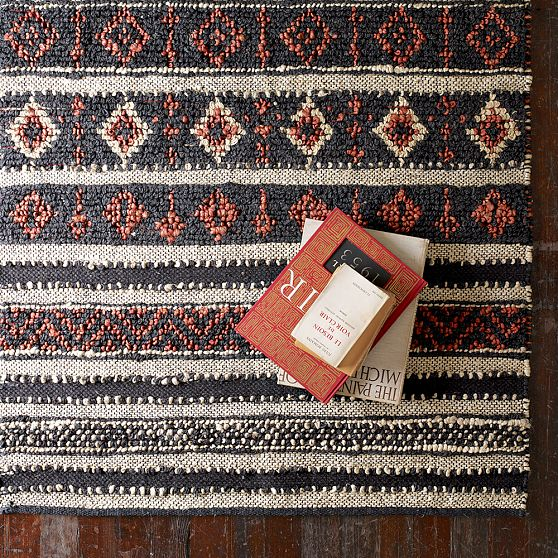 West Elm Jute Rug on OUATT