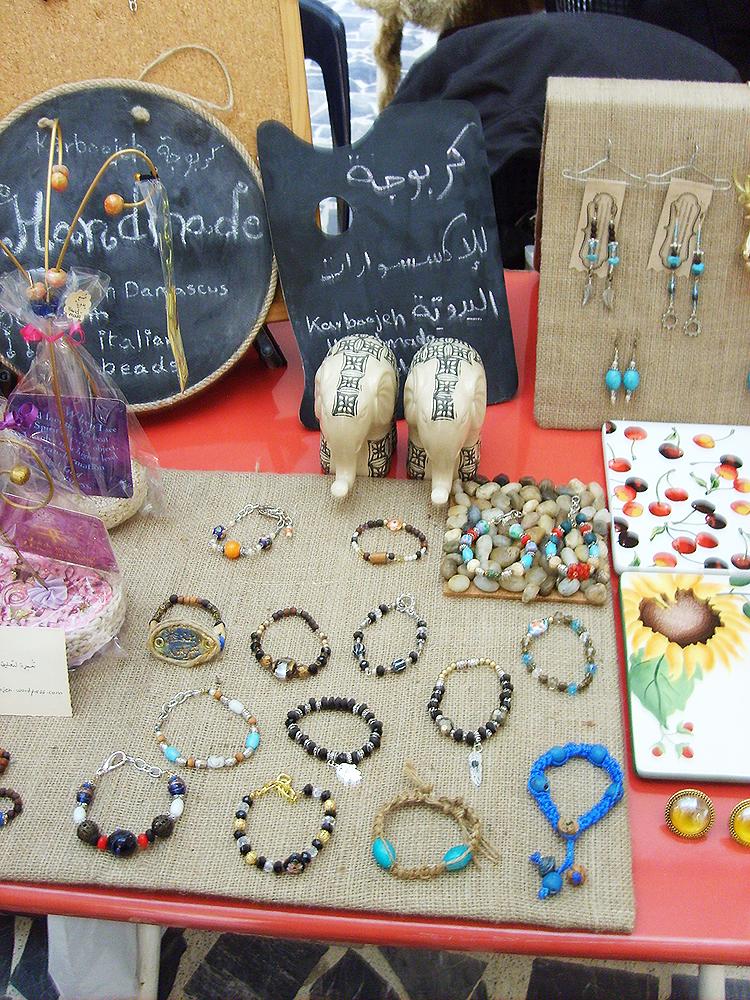 Karboojeh handmade jewelry craft fair show display for Craft show jewelry display