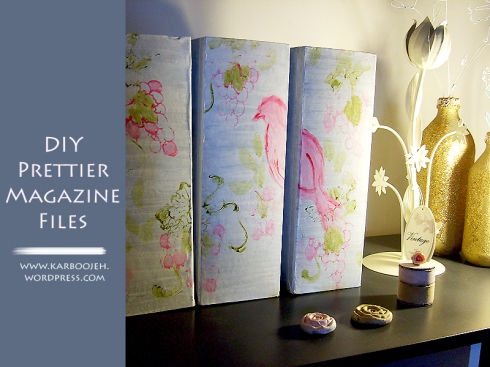 DIY Prettier Magazine Files