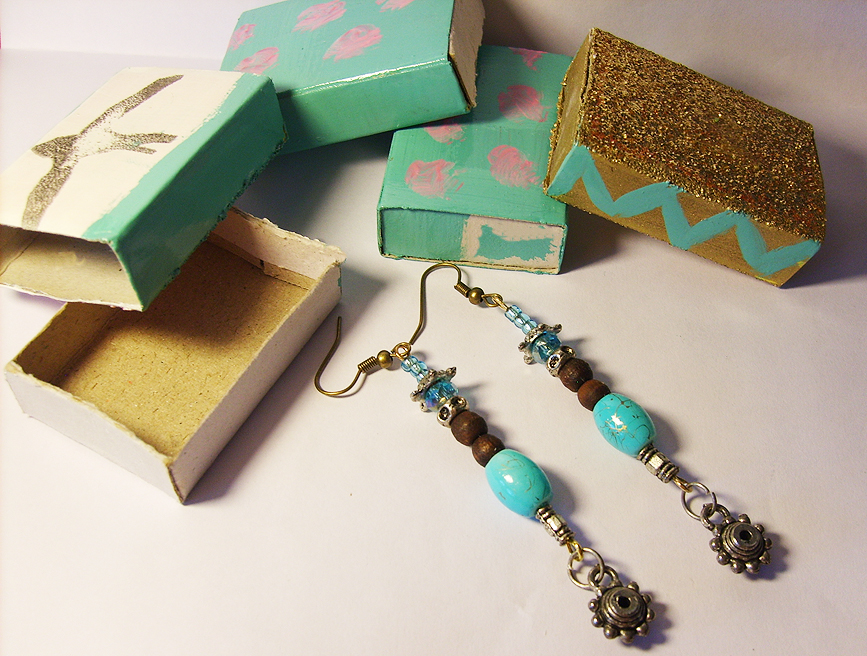 Karboojeh Handmade Earrings Packaging From Repurposed